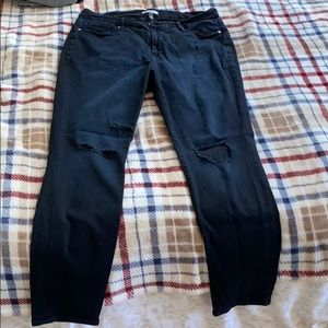 Good American Good Legs Distressed Jeans